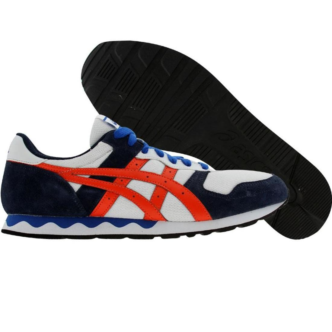 asics tiger gel-holland (white / orange)