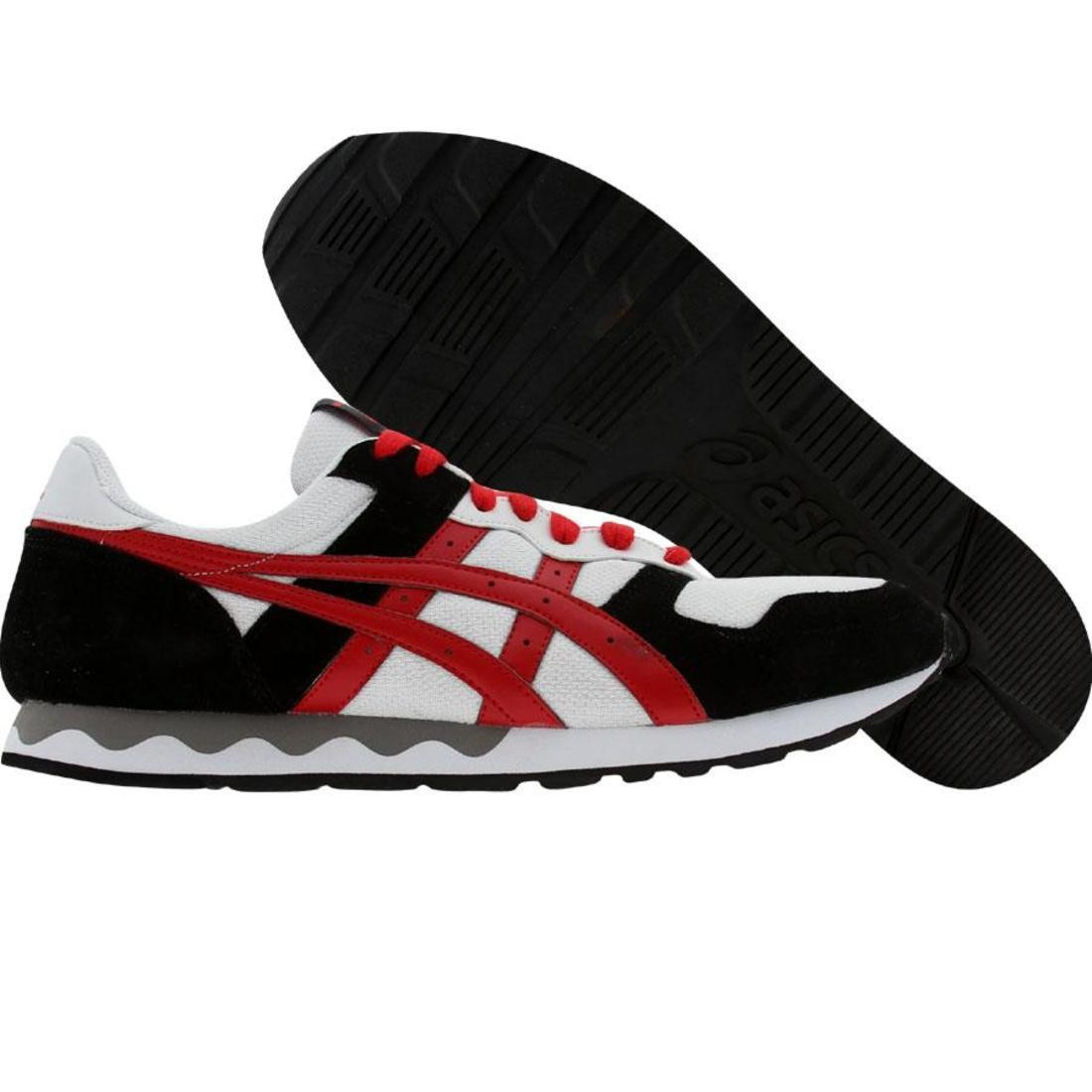 asics tiger gel-holland (white / red)