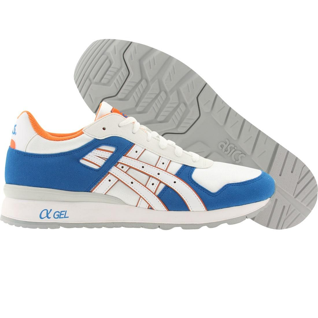 asics tiger men gt-ii (blue / white)
