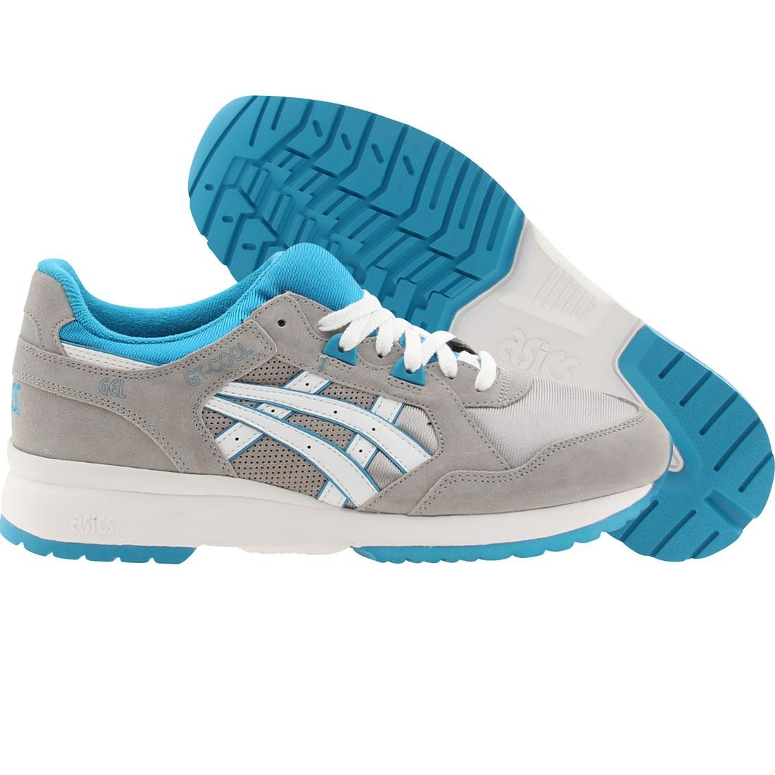 asics tiger men gt-cool (gray / light gray / white)