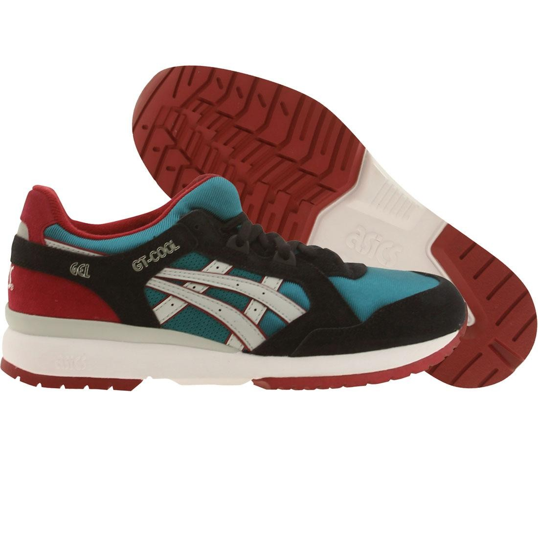 asics tiger men gt-cool (green / shaded spruce / soft gray)