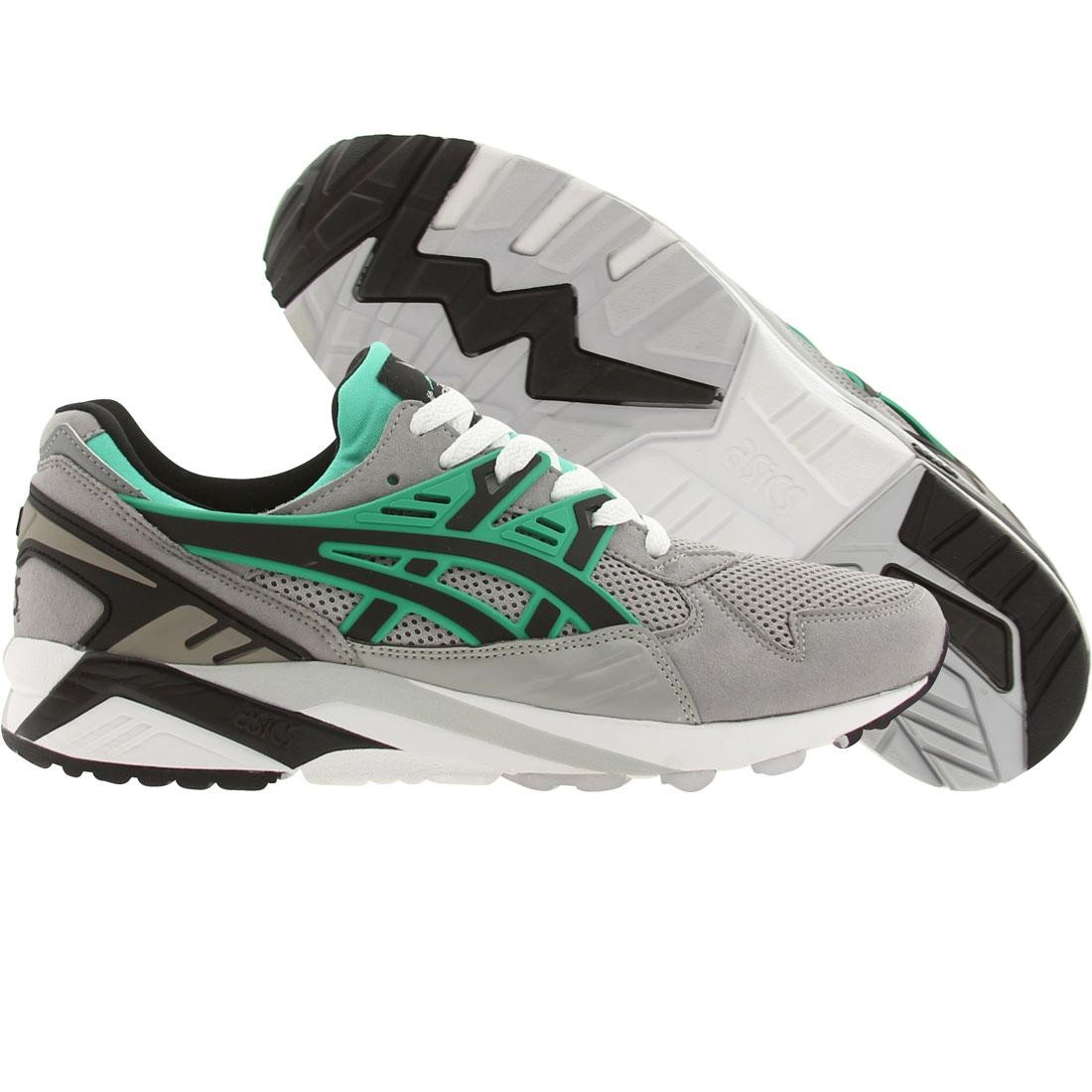 asics tiger men gel-kayano trainer (gray / light gray / black)