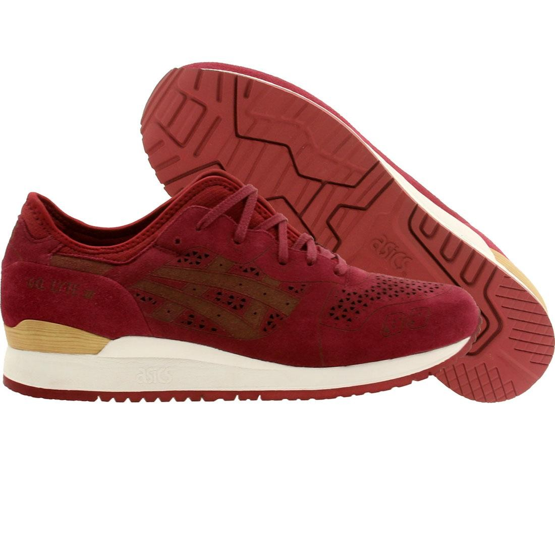 Asics Tiger Men Gel-Lyte III - Lasercut (burgundy)