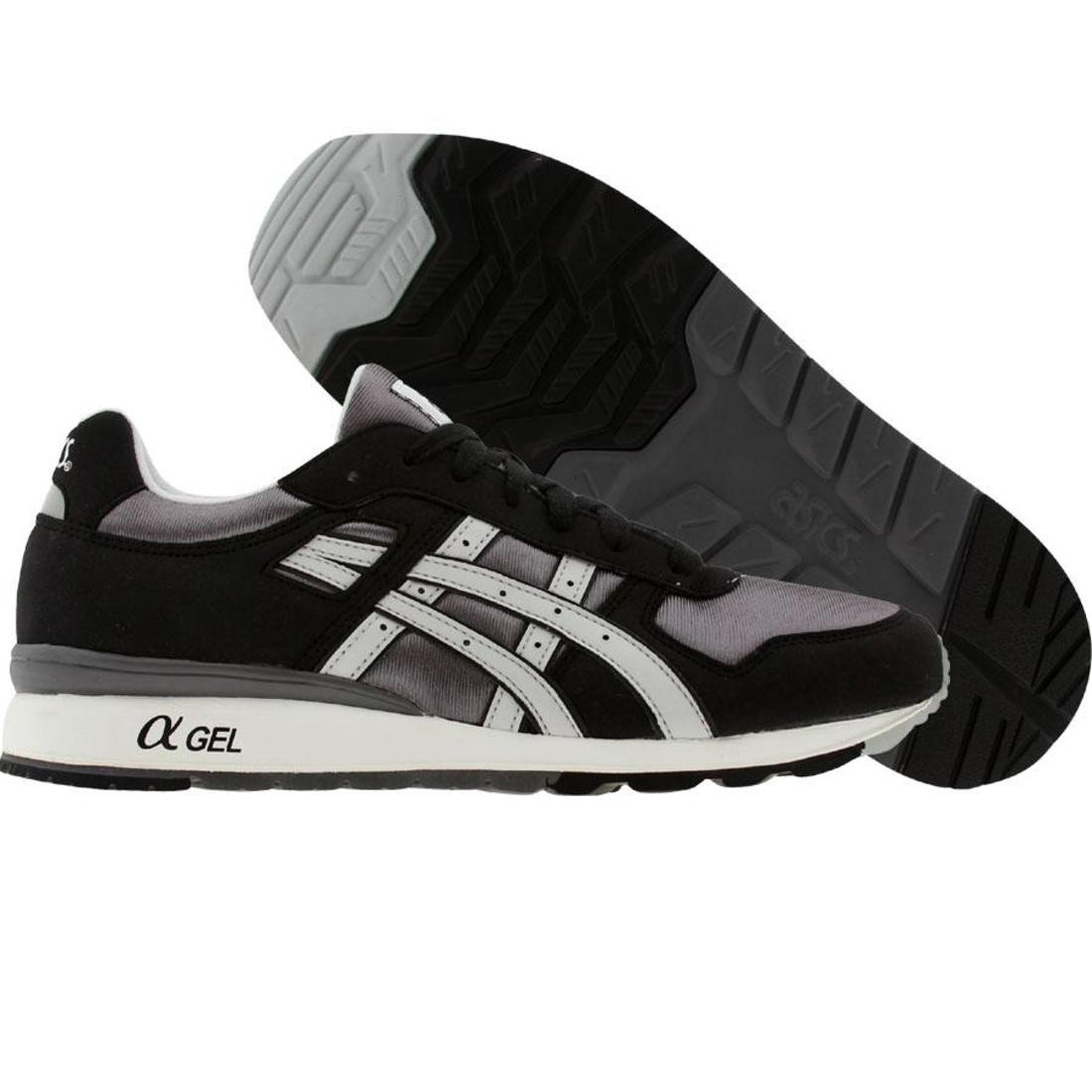 asics tiger gt-ii (black / grey)