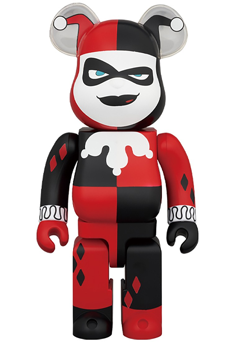 PREORDER - Medicom DC Batman The Animated Series Harley Quinn 1000% Bearbrick Figure (red)