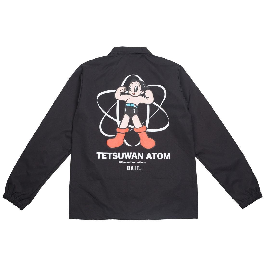 BAIT x Astro Boy Men Tetsuwan Atom Coaches Jacket (black)