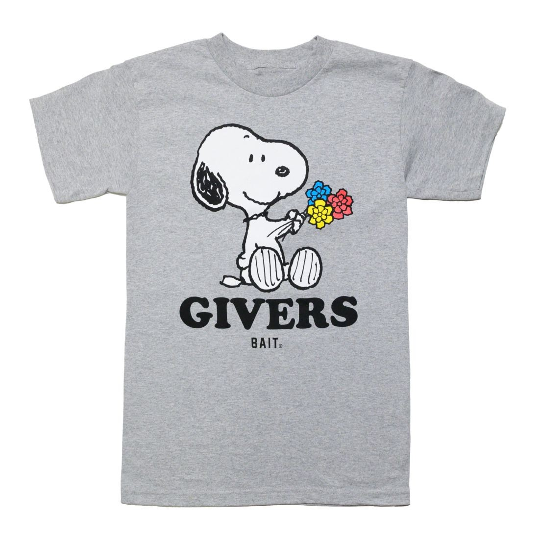 BAIT x Snoopy Men Givers Tee (gray)
