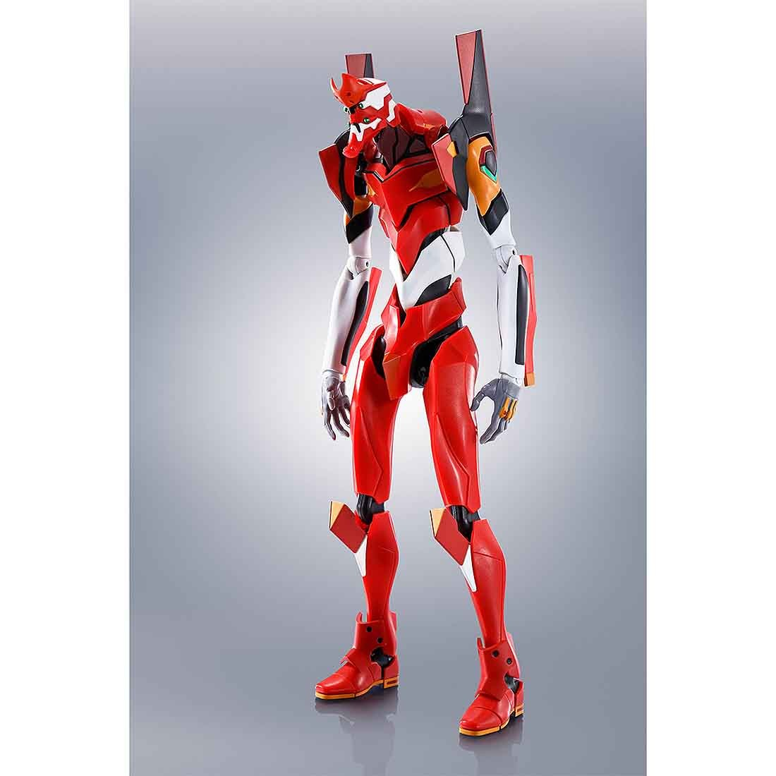 PREORDER - Bandai The Robot Spirits Rebuild Of Evangelion Side Eva Evangelion Production Model-02 +Type S Components Figure (red)