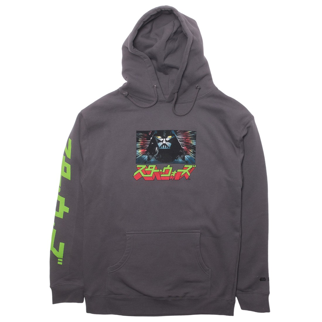 BAIT x Star Wars Manga Men The Tale of Skywalkers Hoody (gray / charcoal)