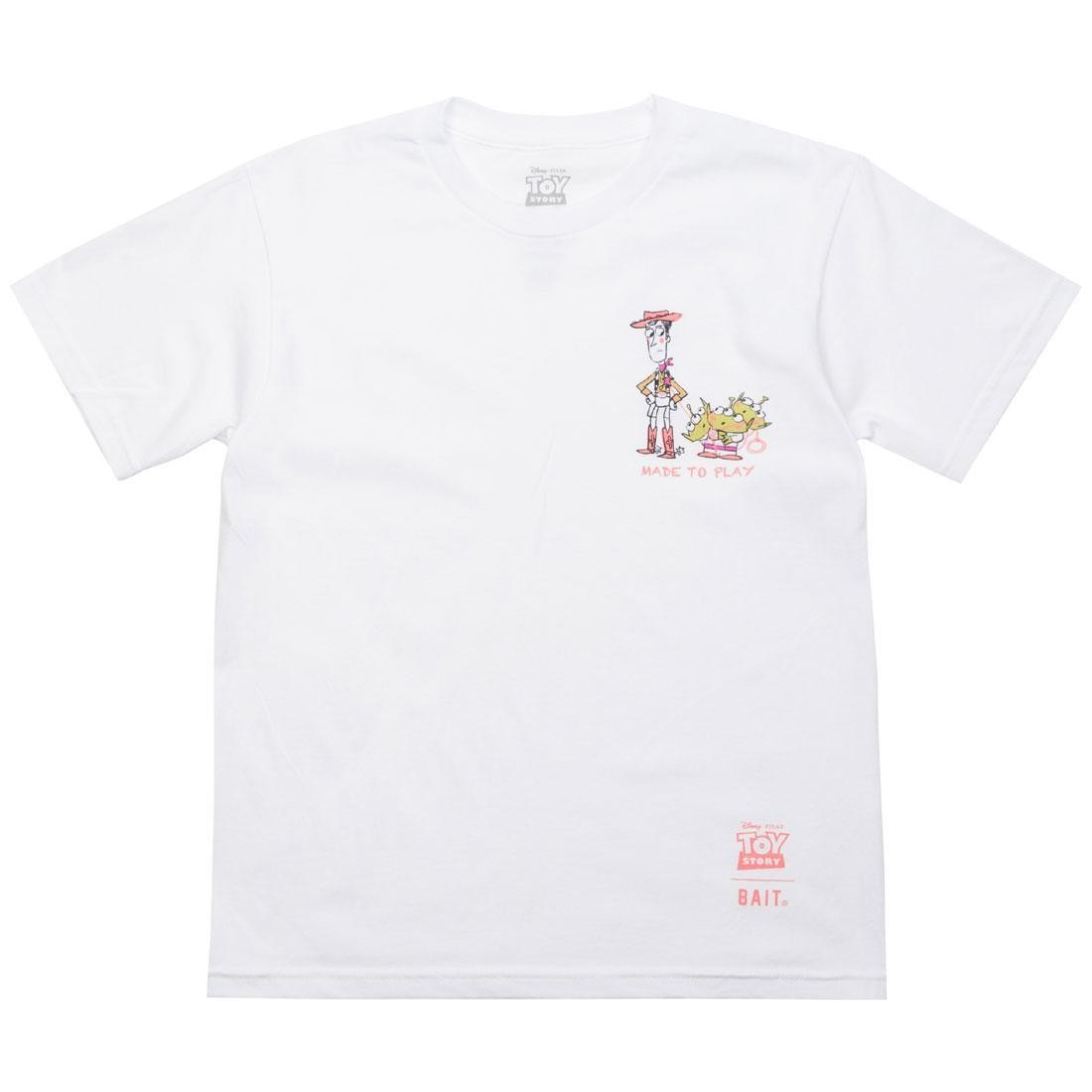 BAIT x Toy Story Made To Play Woody Youth Tee (white)