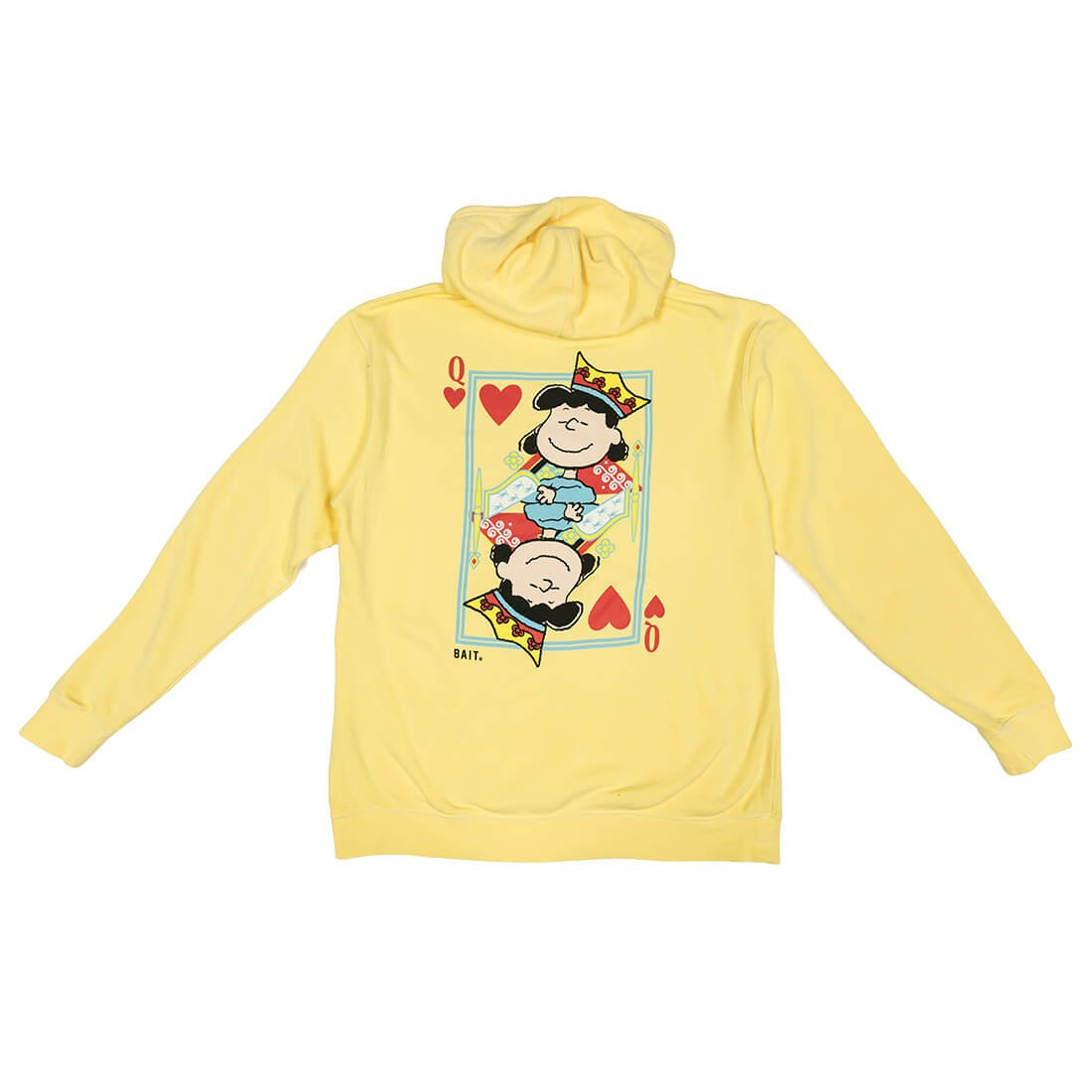 BAIT x Snoopy Women Queen Of Hearts Hoody (yellow)