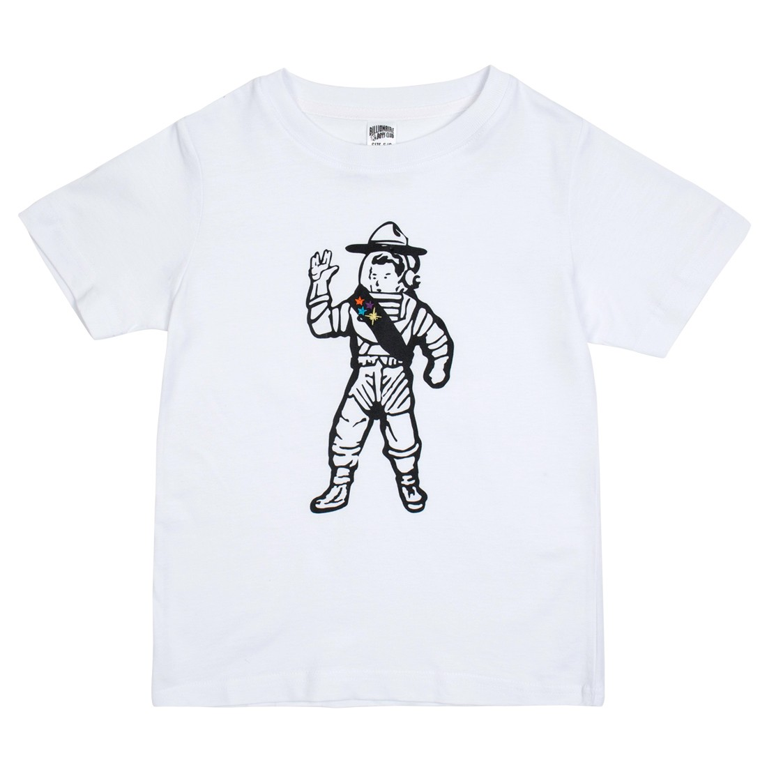 Billionaire Boys Club Little Kids First Class Tee (white)