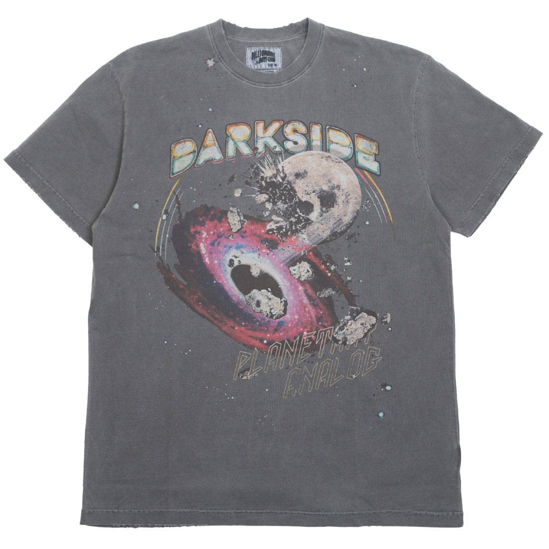 Billionaire Boys Club Men Darkside Knit Tee (gray / raven)