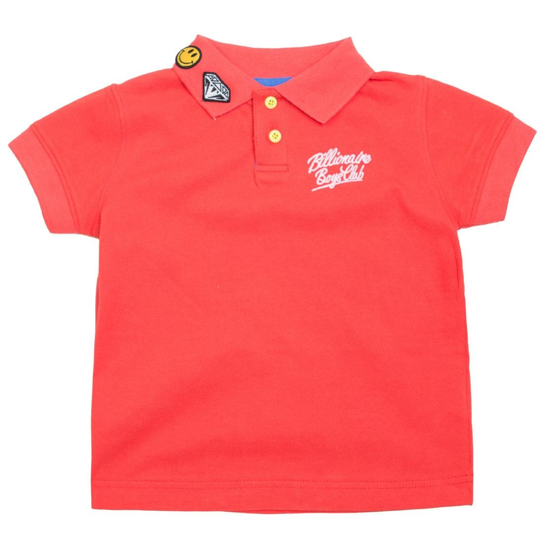 Billionaire Boys Club Youth Oli Polo Shirt (red)