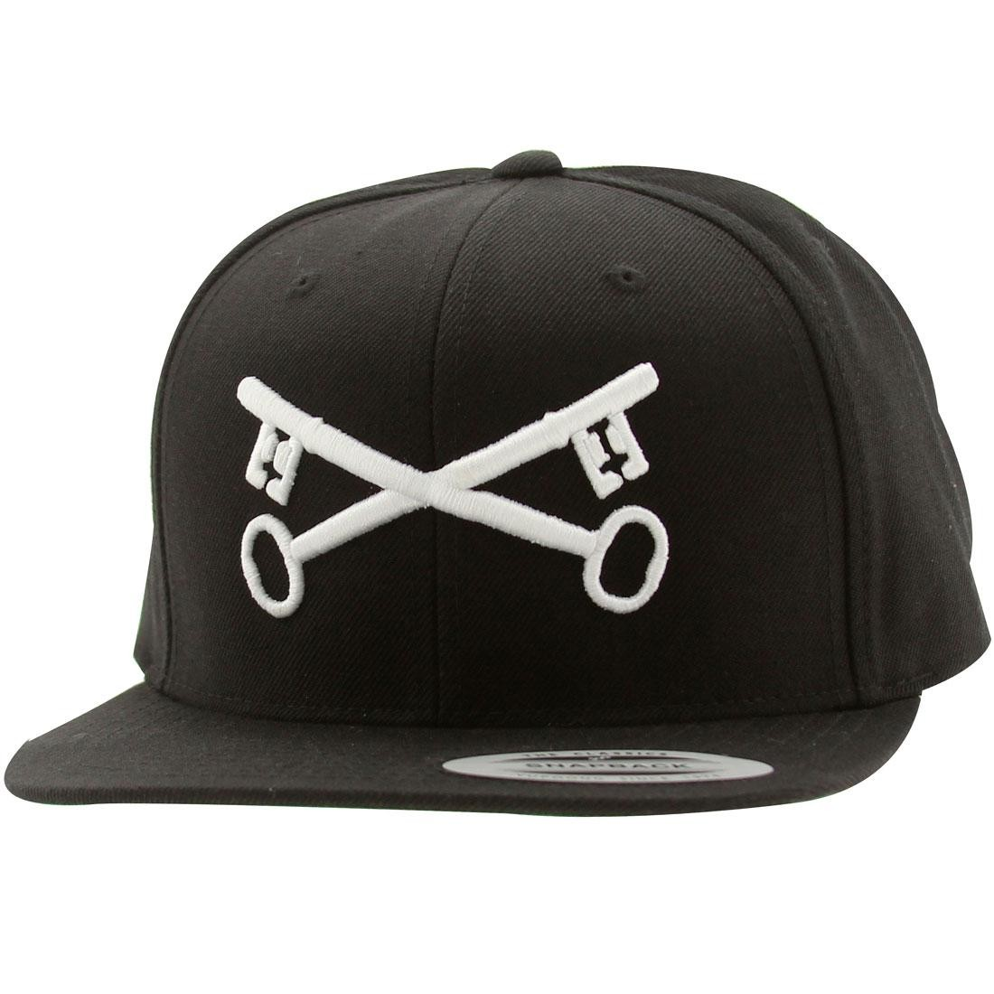 Bloodbath Keys Snapback Cap (black / white)