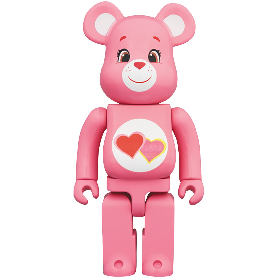 PREORDER - Medicom Care Bears Love A Lot Bear 400% Bearbrick Figure (pink)
