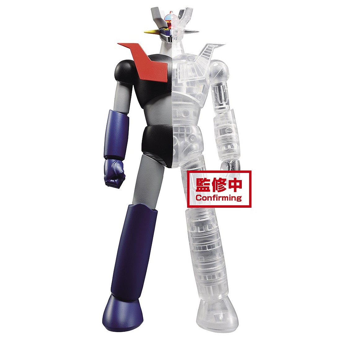 PREORDER - Banpresto Mazinger Z Internal Structure Mazinger Z Ver. A Figure (black / clear)