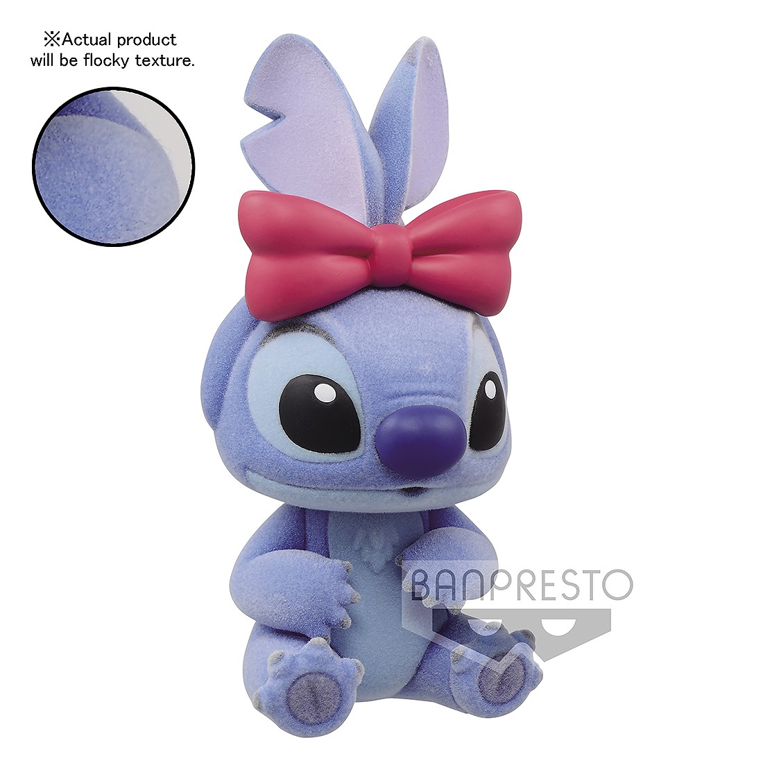 PREORDER - Banpresto Fluffy Puffy Disney Characters Lilo And Stitch - Stitch Figure (blue)