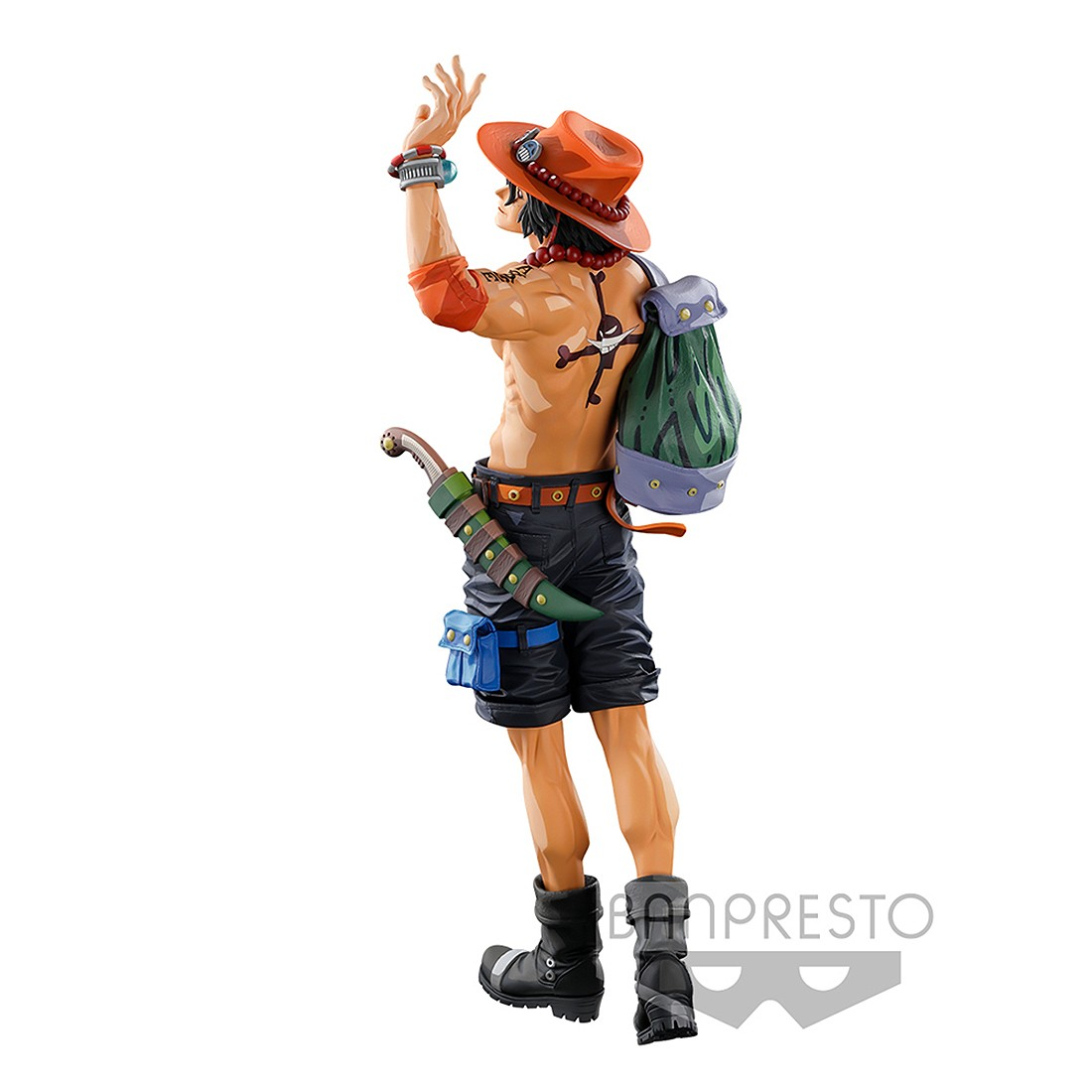 PREORDER - Banpresto One Piece Banpresto World Figure Colosseum 3 Super Master Stars Piece The Portgas D. Ace Two Dimensions Figure (tan)
