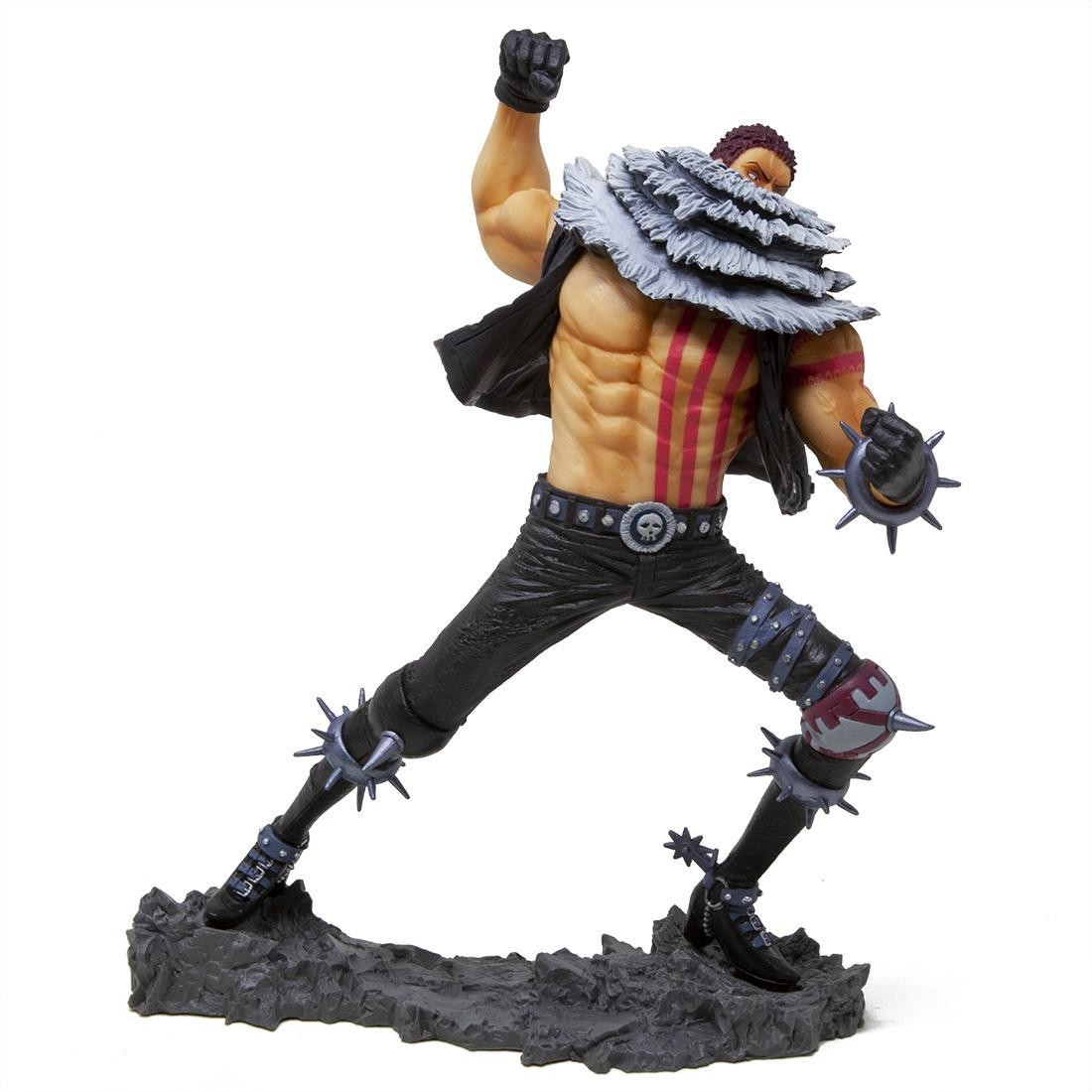 Banpresto One Piece Charlotte Katakuri 20th Anniversary Figure (gray)