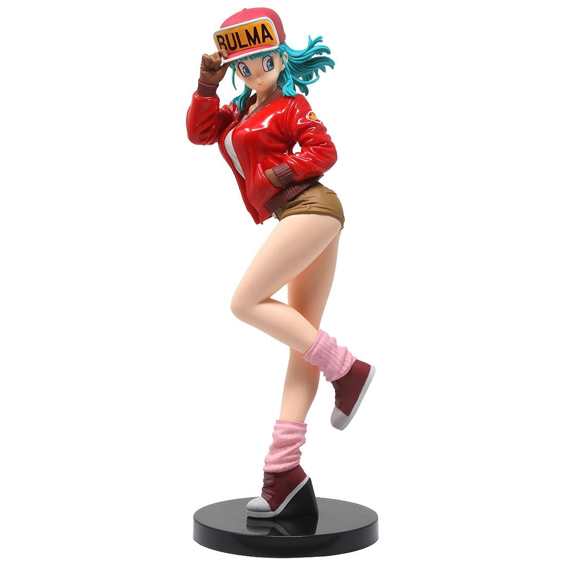 Banpresto Dragon Ball Glitter And Glamours Bulma II - A Normal Color Version Figure (red)