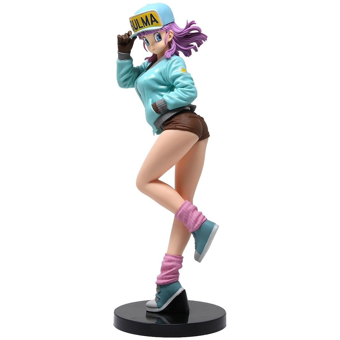Banpresto Dragon Ball Glitter And Glamours Bulma II - B Special Color Version Figure (blue)