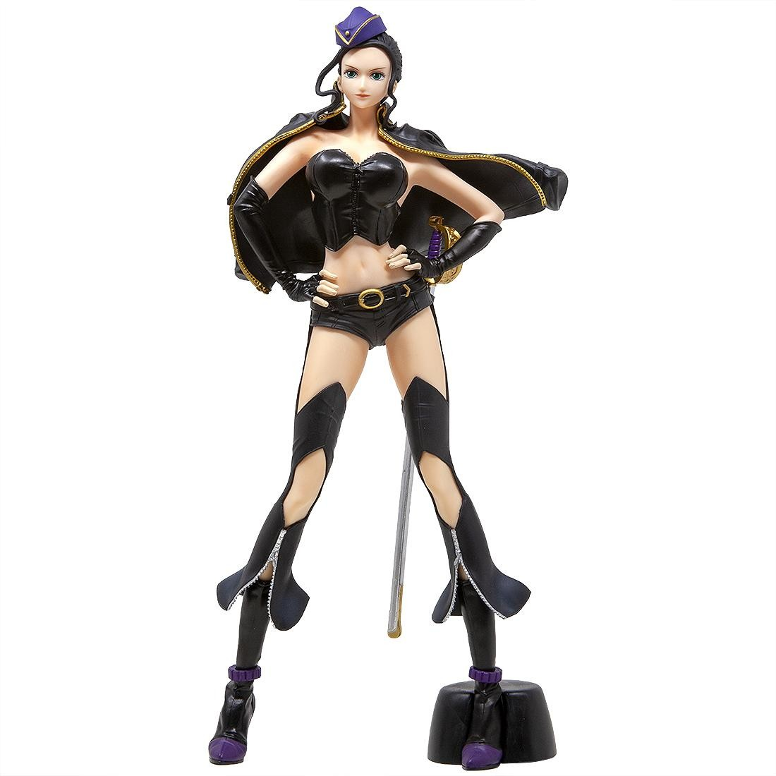 Banpresto One Piece Flag Diamond Ship Nico Robin Code:B Figure (black)