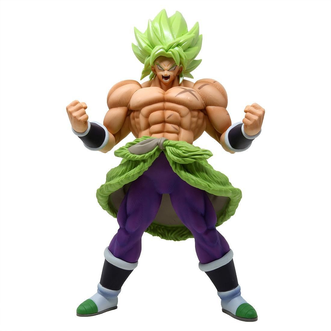 Banpresto Dragon Ball Super the Movie Chokoku Buyuden Super Saiyan Broly Full Power Figure (green)