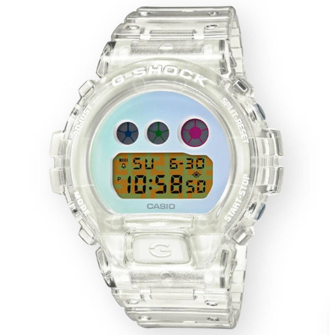 G-Shock Watches DW6900SP-1 - 25th Anniversary (white / clear)