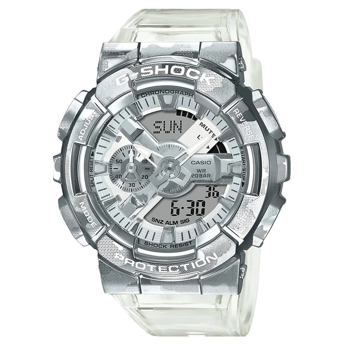 G-Shock Watches GM110SCM-1A Watch (silver / clear)