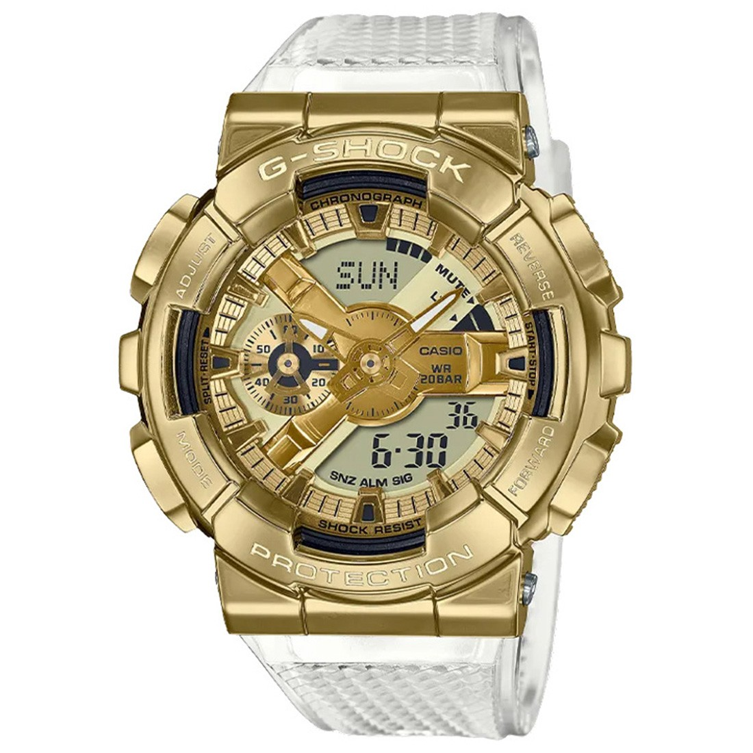 G-Shock Watches GM110SG-9A Watch (gold / clear)