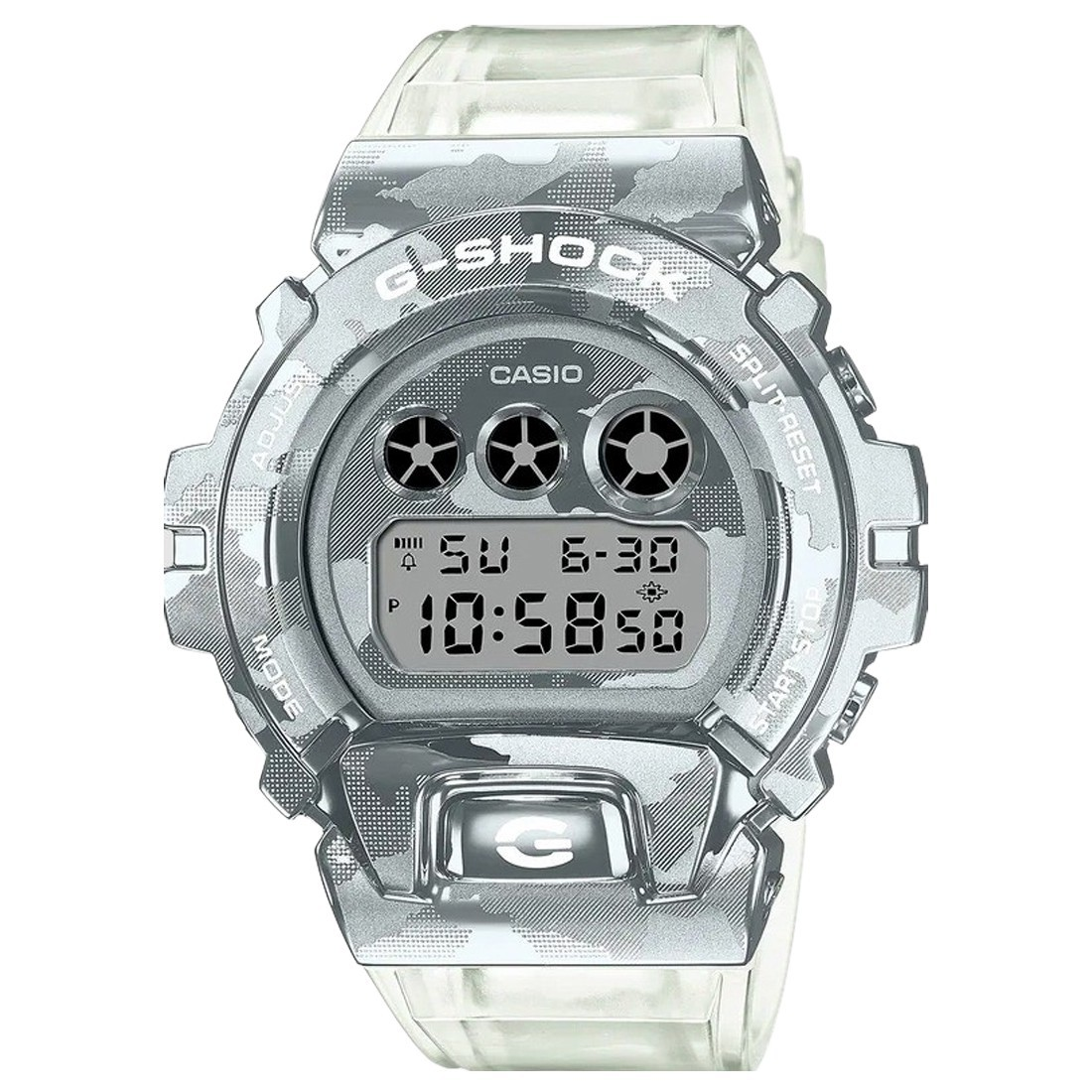 G-Shock Watches GM6900SCM-1 Watch (silver / clear)
