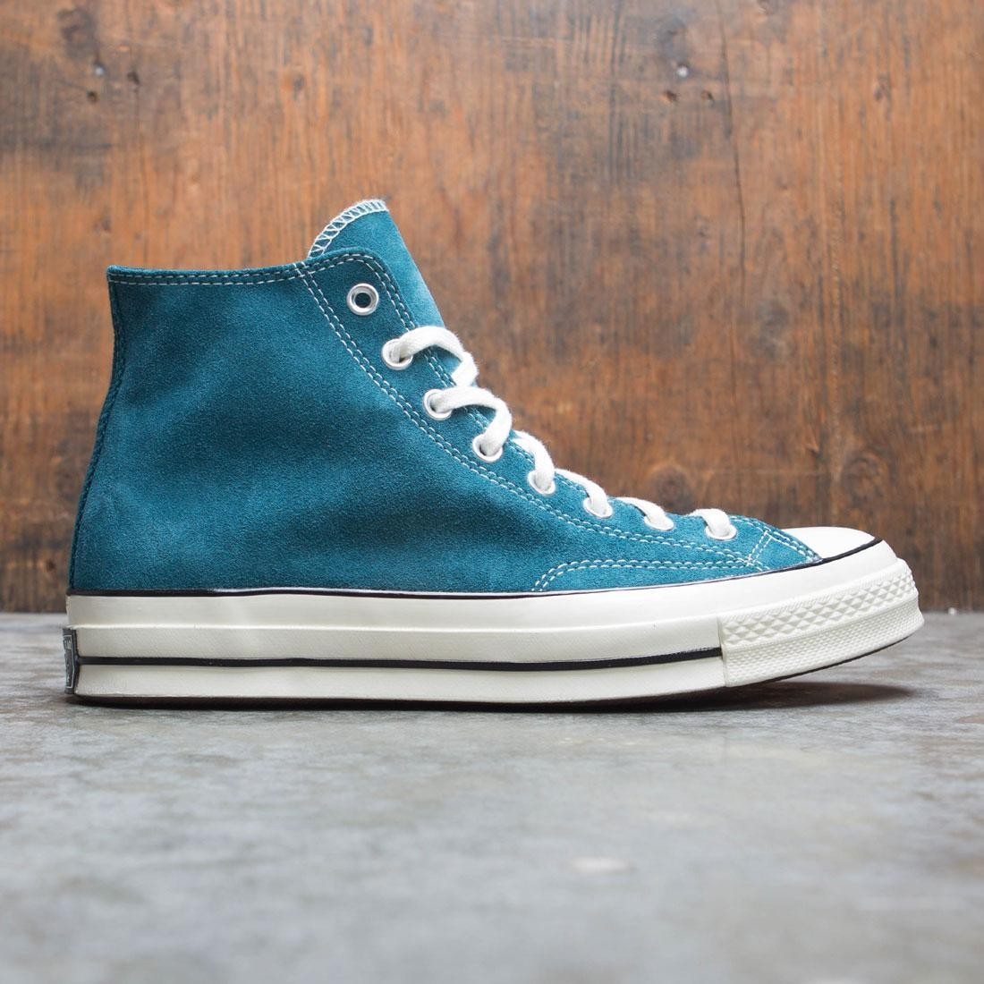 Converse Men Suede Chuck 70 Hi (teal / midnight turq / black / egret)