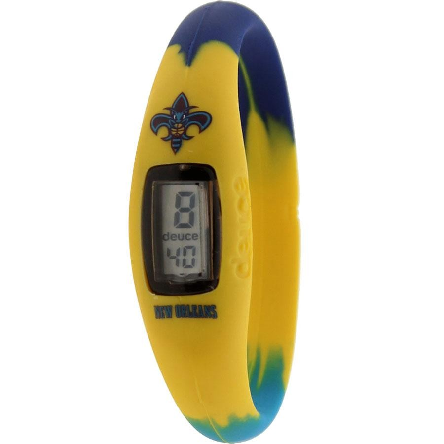 Deuce Brand NBA New Orleans Hornets Watch (yellow / purple / teal)