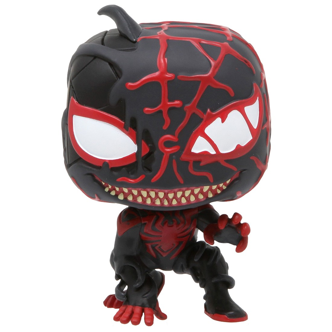 Funko POP Marvel Spider-Man Maximum Venom - Venomized Miles Morales (black)