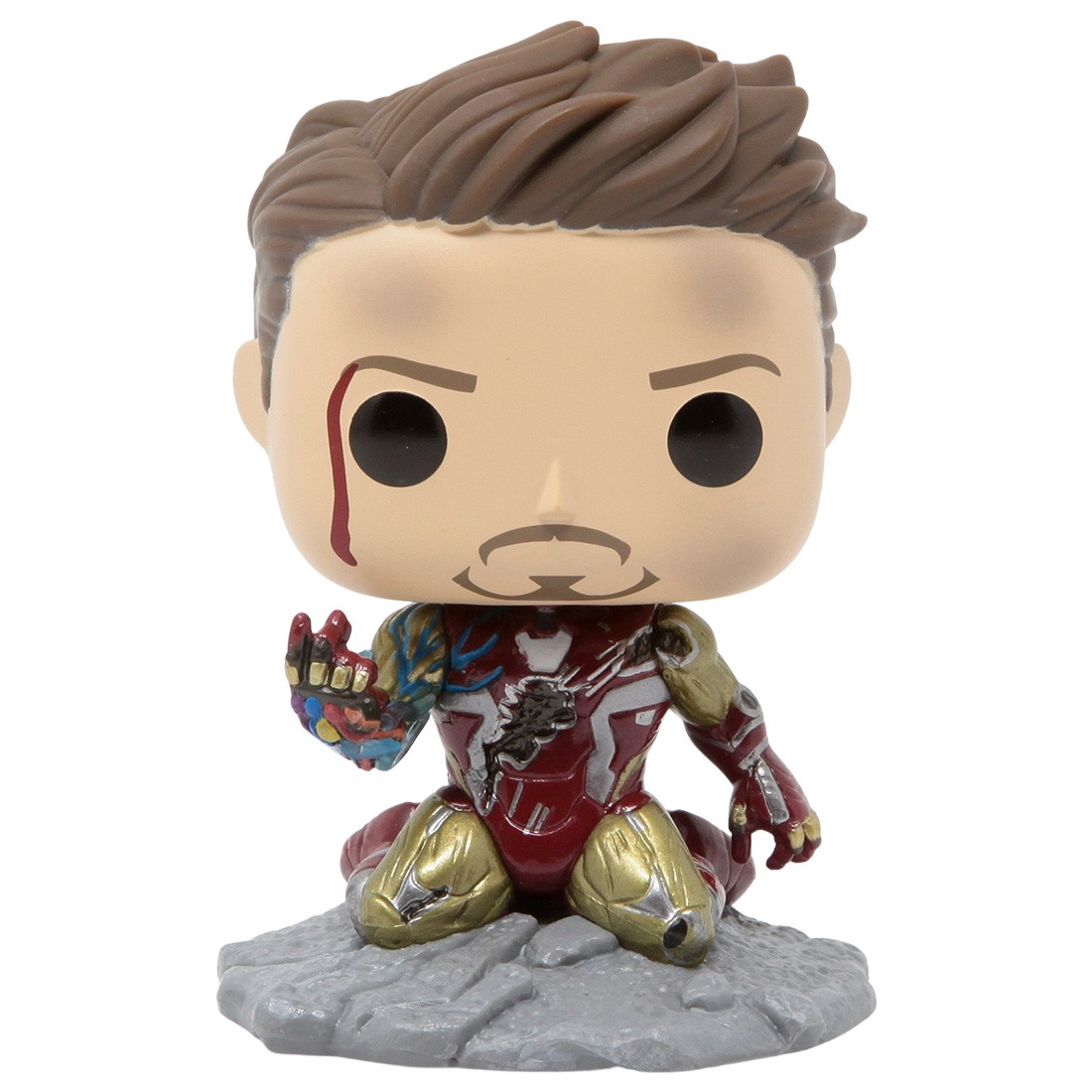 Funko POP Avengers Endgame I Am Iron Man Glow In Dark - PX Previews Exclusive (red)