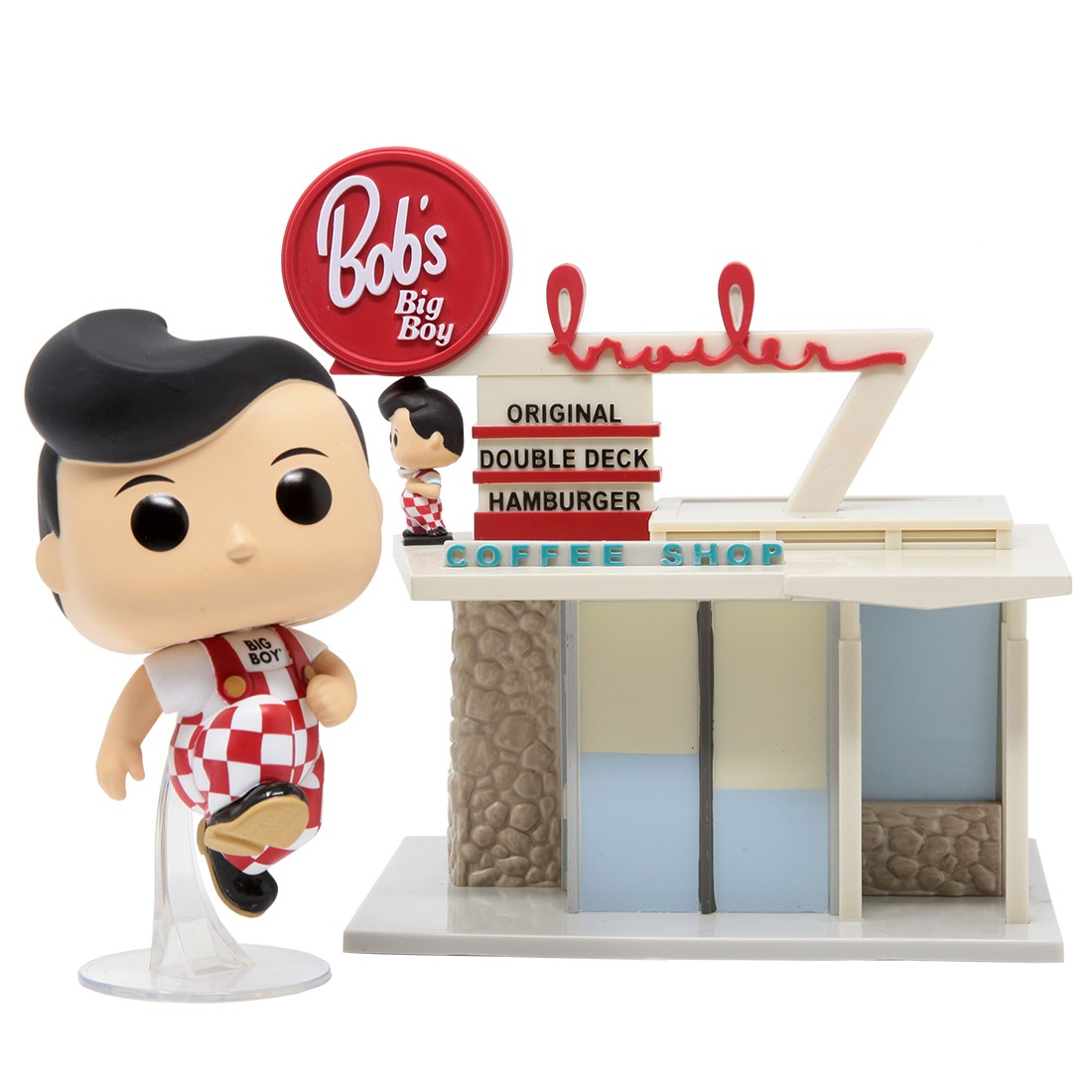 Funko POP Town Bob's Big Boy - Big Boy With Restaurant (red)