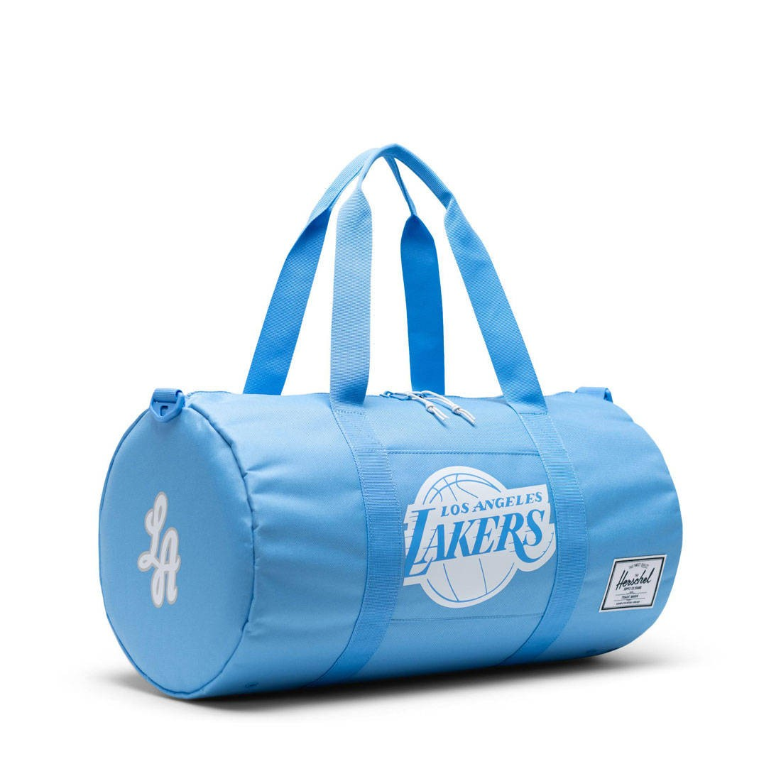 Herschel Supply Co x NBA Los Angeles Lakers Sutton Mid 600 Duffel Bag (blue / light blue)