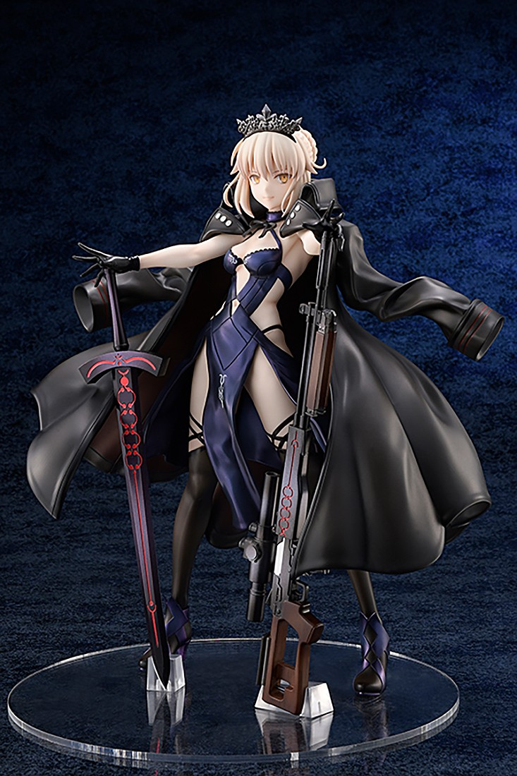PREORDER - Hobby Japan Amakuni Fate/Grand Order Rider Alter Altria Pendragon Figure (black)
