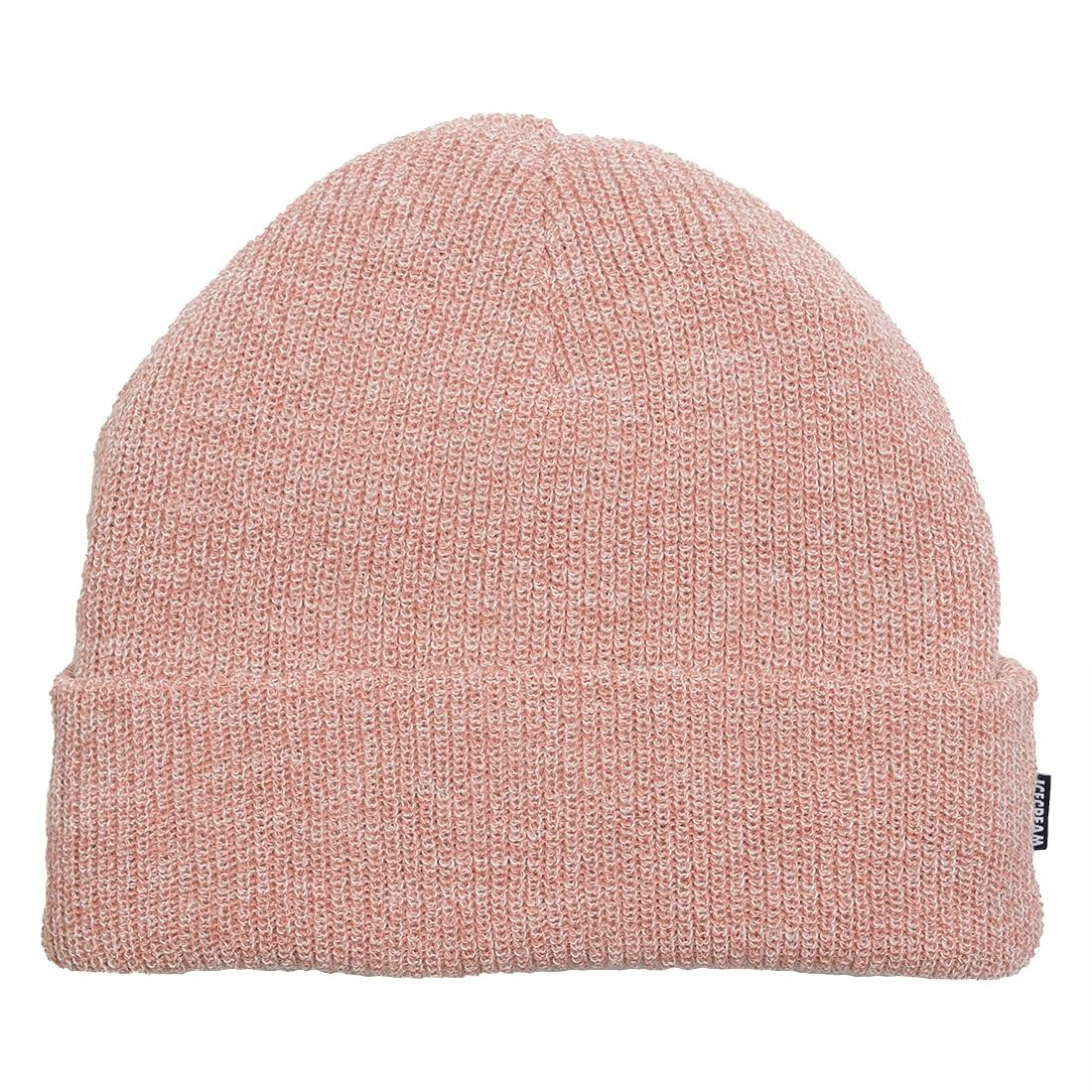 Ice Cream Dippin Knit Beanie (pink / muted clay)