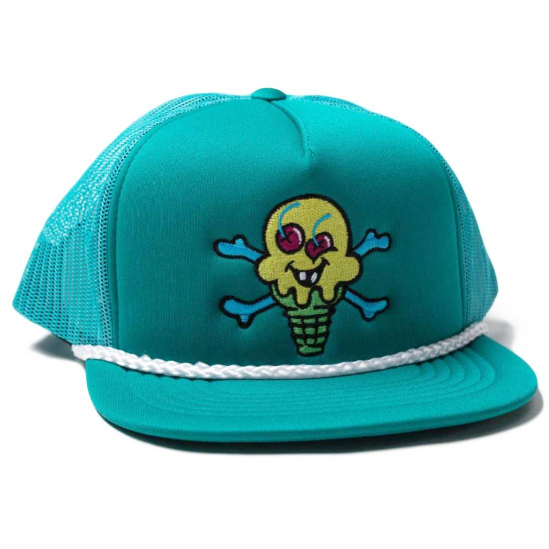 Ice Cream Cross Cones Trucker Crap (blue / tarmac)