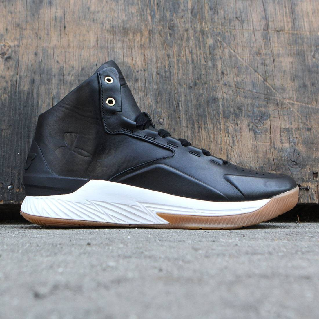 e692a88f Under Armour x Steph Curry Men Curry 1 Mid Alpha Leather - Curry Lux Pack  black stone