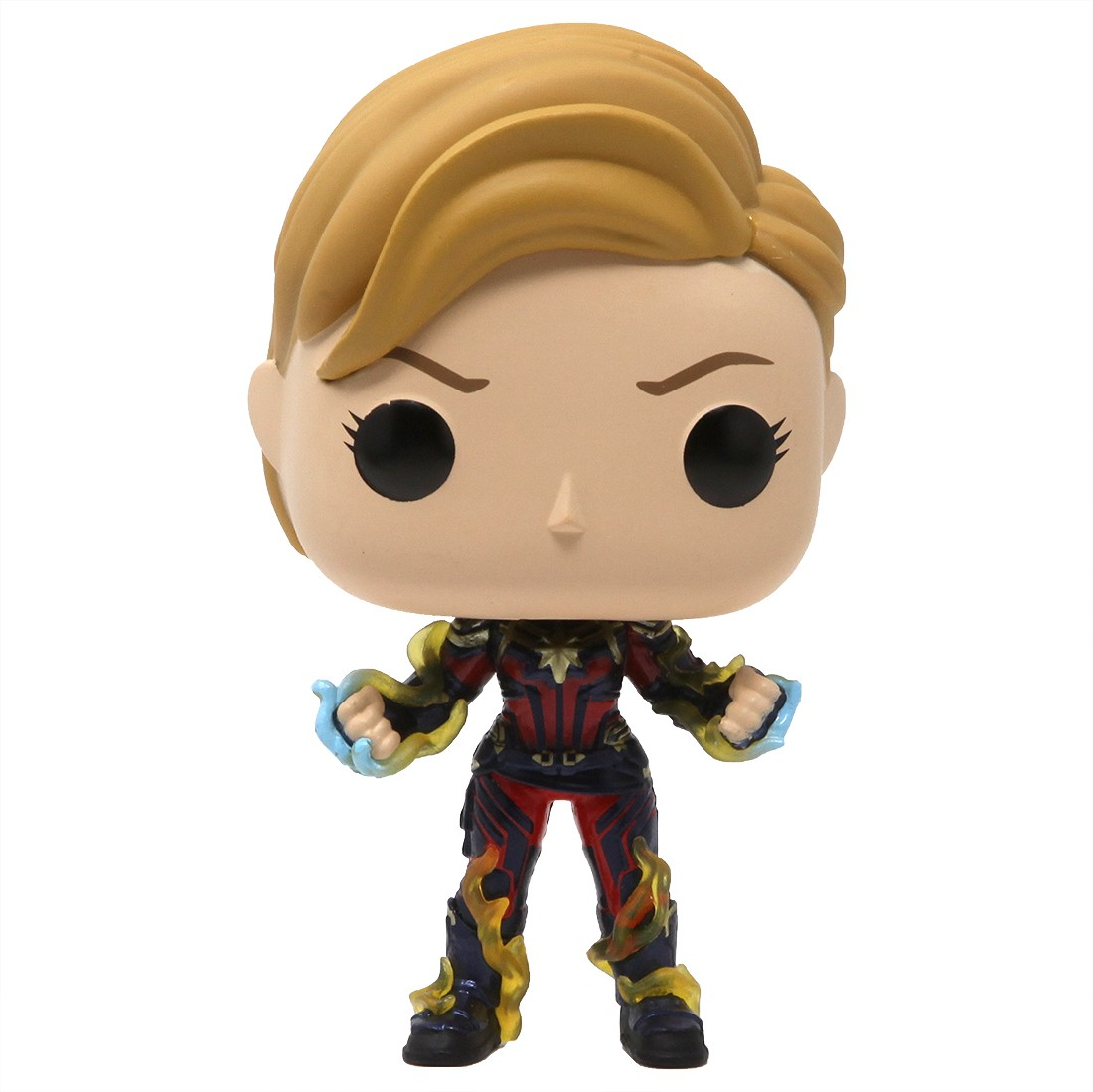 Funko POP Marvel Endgame Captain Marvel With New Hair (navy)