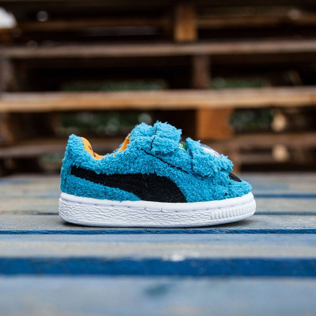 Puma x Sesame Street Toddlers Basket SES - Cookie Monster (blue)