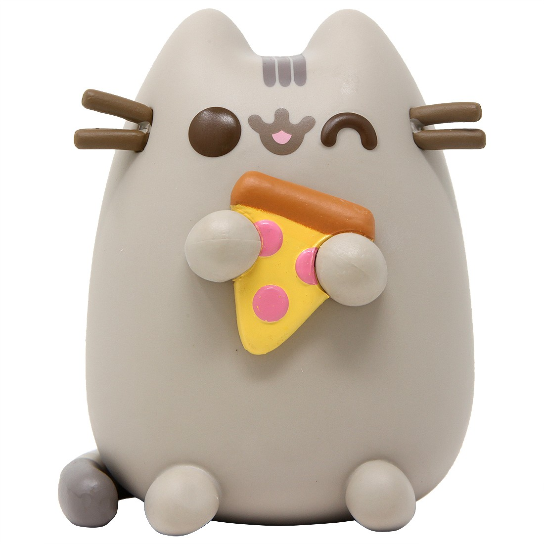 Funko POP Pusheen The Cat - Pusheen With Pizza (gray)