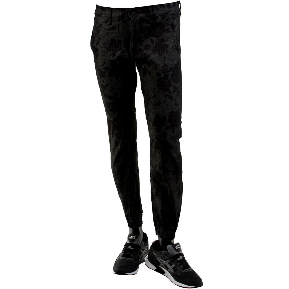 Kennedy Denim Co The Weekend Jogger Pants (black / black floral)