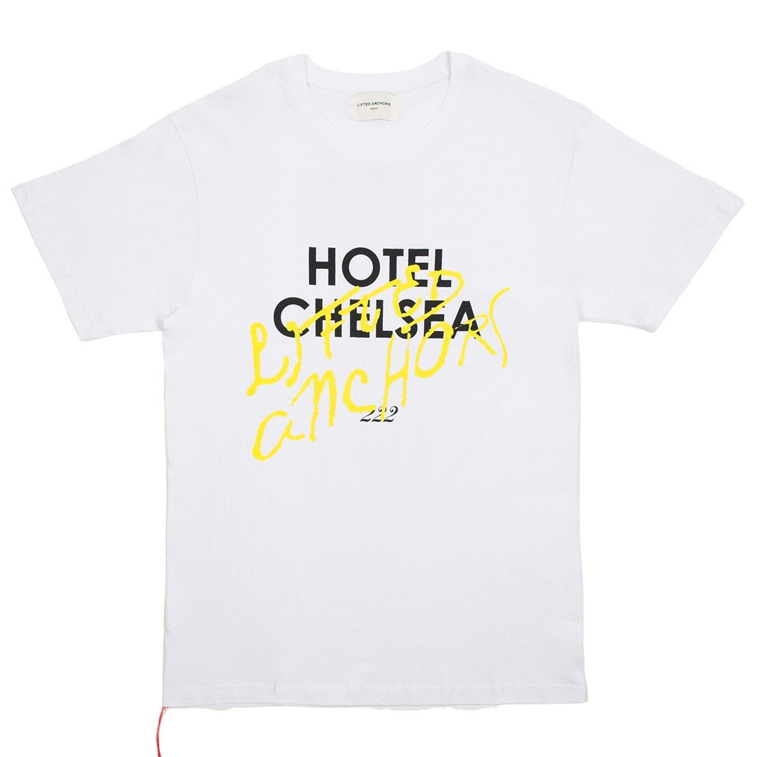 Lifted Anchors Men Chelsea Tee (white)