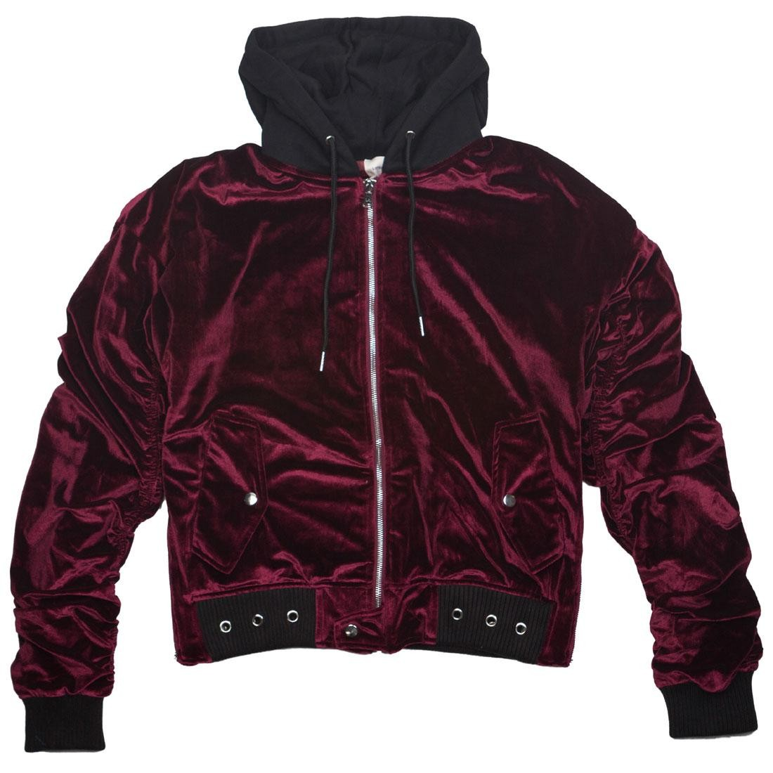Lifted Anchors Men Faithfull Jacket (red / maroon)