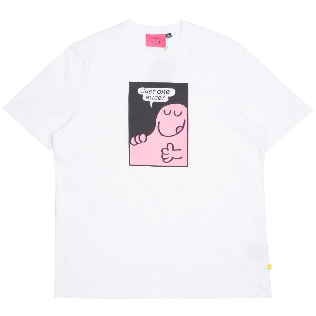 Lazy Oaf x Mr Men Men Greedy Tee (white)