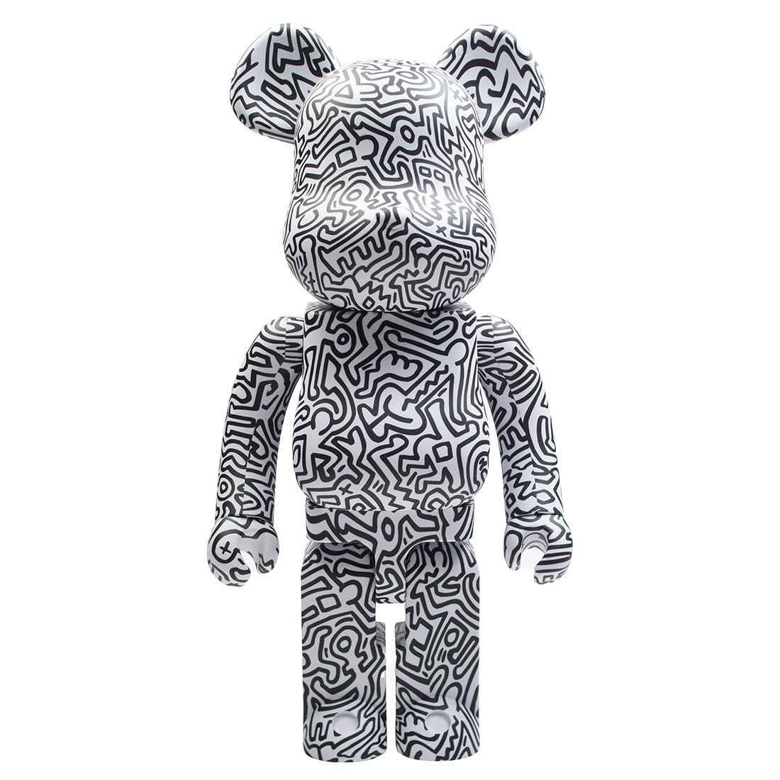 Medicom Keith Haring #4 1000% Bearbrick Figure (white)